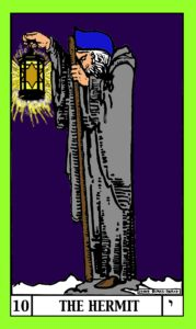 The Hermit shedding light on the Western Mystery Tradition