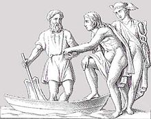 Hermes aiding a Soul with Invisible Assistance